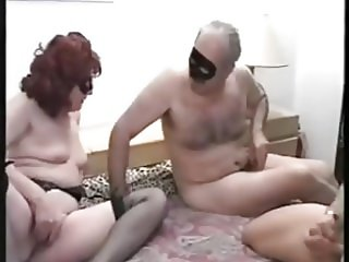 Bisexual Daddy Fuckng with Friend and Wife