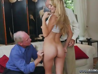 Skinny small tits threesome Molly Earns Her