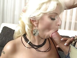 Horny mature MILF ride and suck big cock
