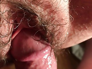 My Wife: A Slow, Hairy Creampie