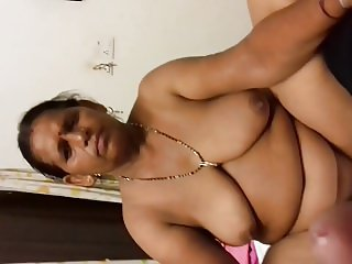Indian mom sushila with big boob