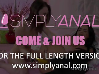 Simplyanal - Lesbian anal rimming and toying with Viktoria and Dafne