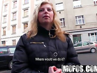 Mofos - Public Pick Ups - Saving for Xmas by Showing Ass sta