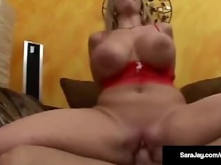 Porn Queen Sara Jay Takes 3 Big Cocks in Her Wet Ass & Cunt!