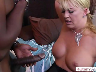 Step Mom Joclyn Stone Waits Black Dick