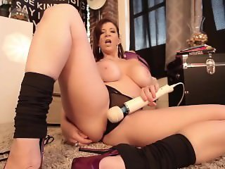 Big Tit Slut Sara Jay Loves Her Hitachi