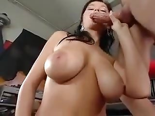 Great Cumshots on Big Tits 49