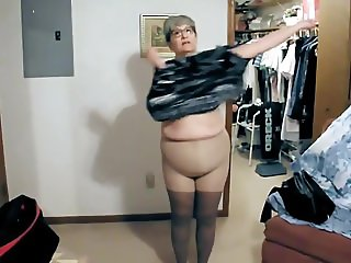 Watch someone grandma get dressed to go out.mp4