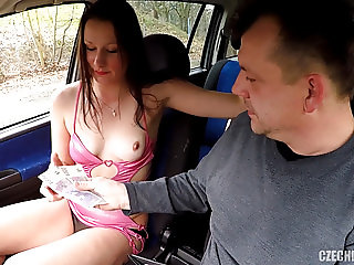 Sheriff Mirek Buying Street Prostitute for Ass Licking