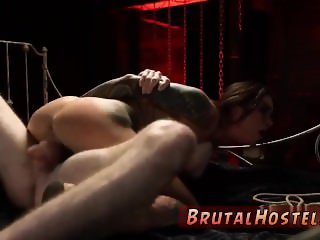 Rough machine xxx brutal gangbang forest