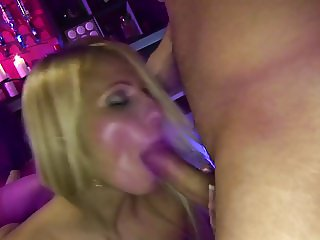 Fascinating whores submit for a rough fucking in the club