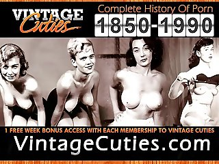 Dancing and Creaming Their Pussies (1960s Vintage)