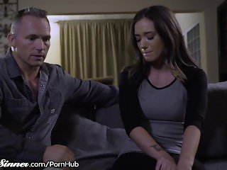 SweetSinner Gia Paige is Hungry for Her Step-Fathers Cock