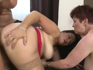 Mature Stepmom Group Fuck Party