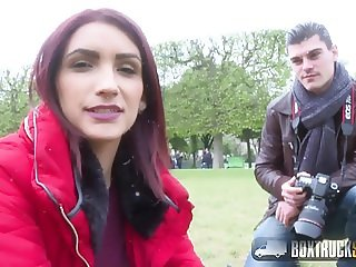 Beautiful Amina Danger takes a Huge Cock in Public