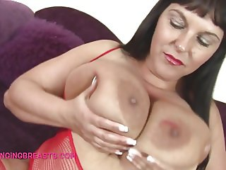 Mature with amazing tits