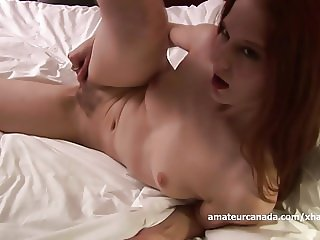Clit anal shaking orgasm using homemade hairy pussy