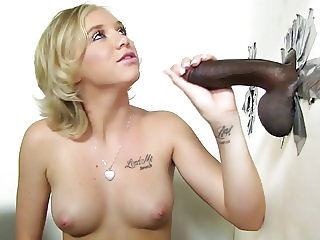 Tracey Sweet Gets Creampied By a BBC - Gloryhole