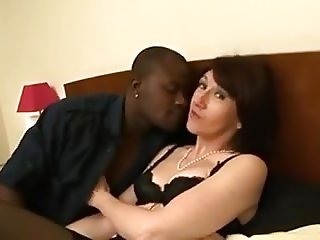 French Milf Goes Anal With A Black Cock