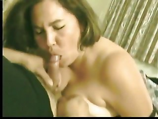 Real wife sucking husband and his friends cocks
