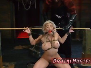 Silk gagged bondage xxx Big-breasted