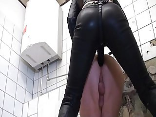 German Mistress Pegging