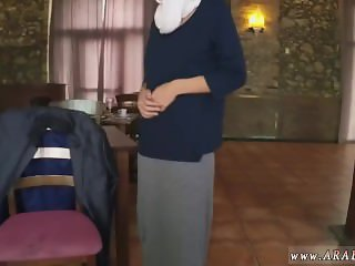 Cute arab xxx Hungry Woman Gets Food and