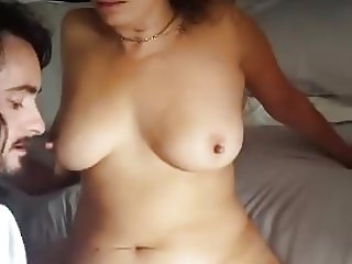 Chubby wife shared and getting played with