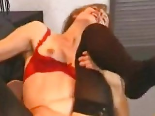 German housewife hard fucked by young man