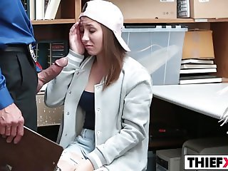 Teen Thief Gets Nailed To Pay Her Dues