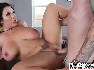 Alert Step-Mom Sheridan Love Enjoys Good Cock