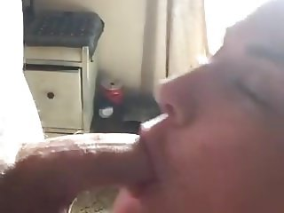 Sensual blowjob from the housewife