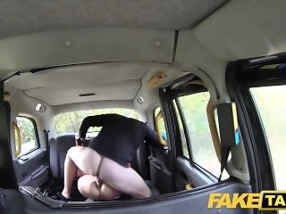 Fake Taxi Italian beauty in stockings gets a tight deep anal fuck