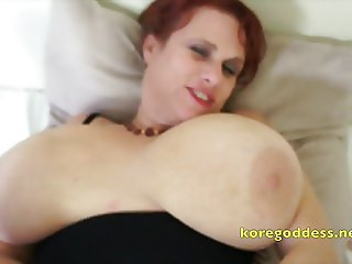 Ass fucks her then wanks on her open pussy