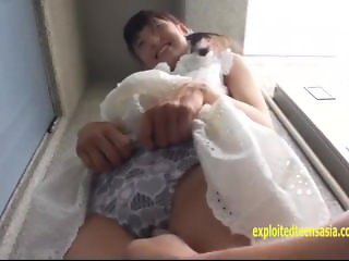 Petite Asami Tsuchiya, Shuna Kagami Play With There Pussies And Piss Cheeky
