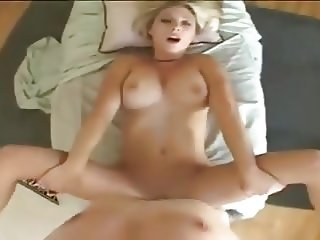 Crazy massage and CUM Swallowed Twice
