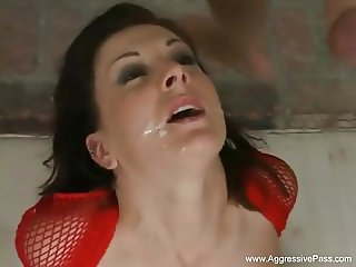 Anal Threesome For Latina Sister