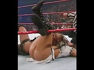 Mickie James - Show her ass and panties