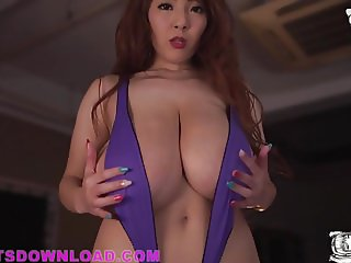 Giant tits busty asian