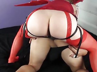 Mistress Amy - Satan's Got A Hard Strapon For You!