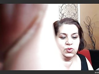 Mature Bulgarian BBW Showing Me Her MouthWatering Tits