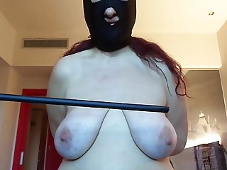 Session November 2017: tits punishment, 50 strokes