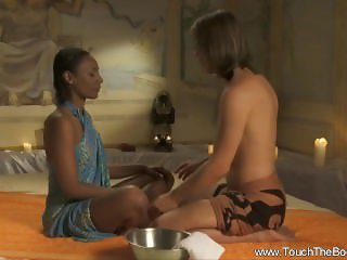 Deep Ebony Massage From India
