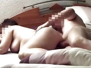 hidden cam - fucking my resting wife in bed