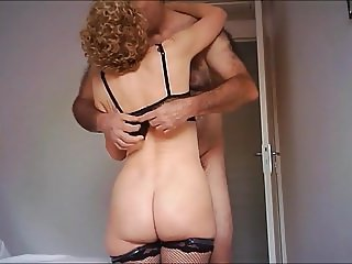 Sexy mature Other Nurse's back for hidden cam
