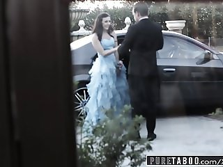 PURE TABOO Whitney Wright First Gangbang Before School Prom
