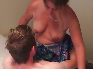 wife riding mates cock being fucked