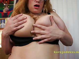 Secretary fucks her hairy cunt after office hours