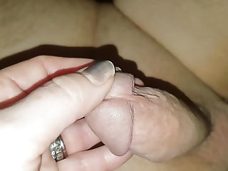 Hand and foot job scottish wife