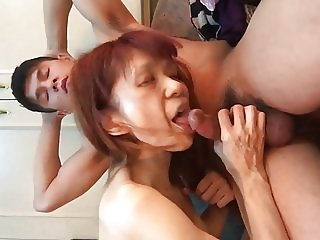 POV 41 Japanese milf love hotel PT. 3 rides dick and sucks